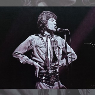 Mick Jagger from Robert Knight by ASteller